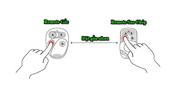 Hướng dẫn sao chép điều khiển cửa cuốn đơn giản trong 30 giây
