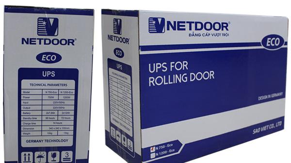 Bộ lưu điện cửa cuốn Netdoor