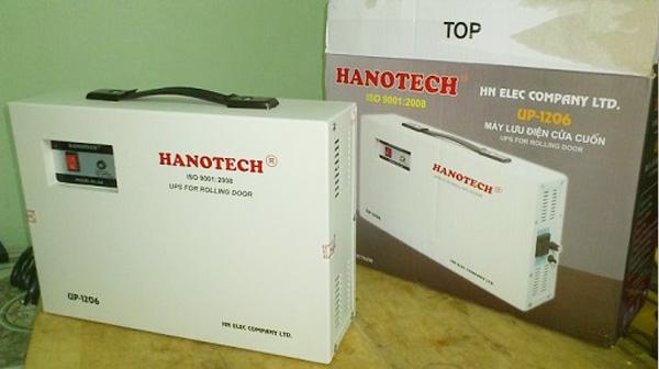 Bộ lưu điện cửa cuốn Hanotech