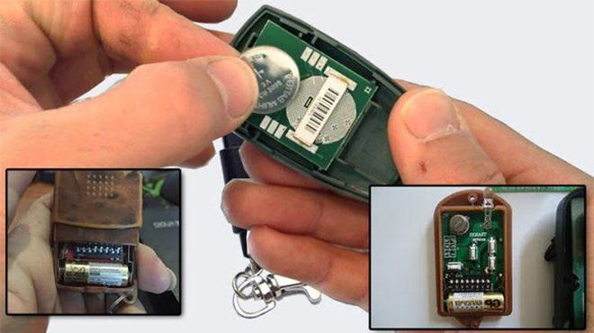 Hướng dẫn cách thay pin điều khiển tại nhà