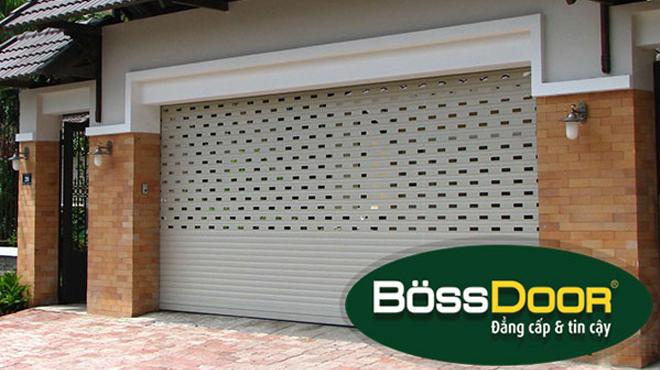 Vì sao lại chọn cửa cuốn Bossdoor lắp cho cửa nhà mình