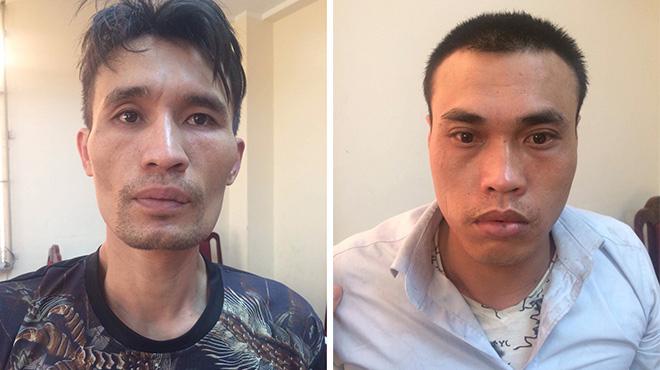 Bắt tạm giam nhóm đối tượng chuyên phá cửa cuốn, trộm tài sản ở Hà Nội